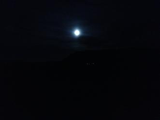 I haven't seen moonlight this bright since North Korea (Alicia)