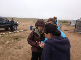 Mongolians have an amazing education system and very high literacy rate, teenagers from the remote areas attend boarding schools in larger towns. Giraa, a teen we met in the Northern Gobi, even had Facebook!