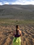 Tara V. the massive sand dune