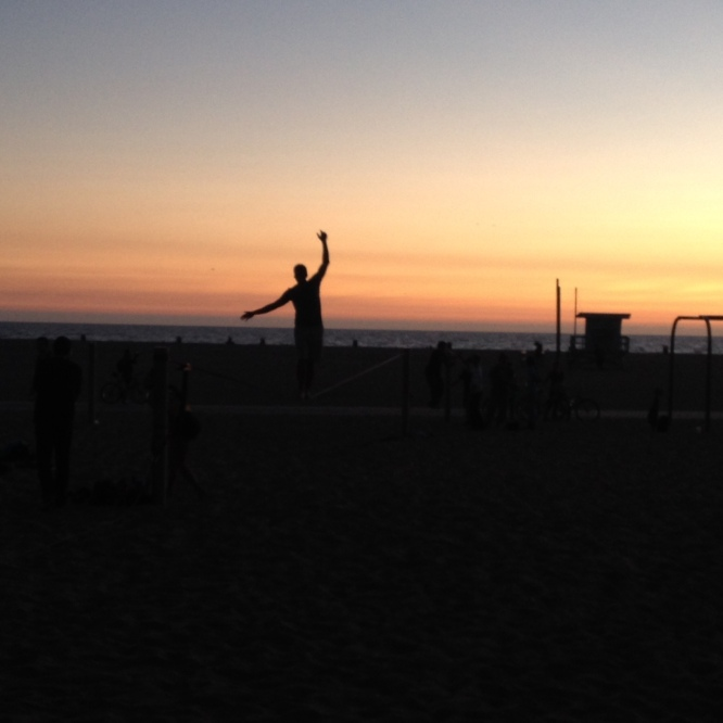 acrobatics in santa monica