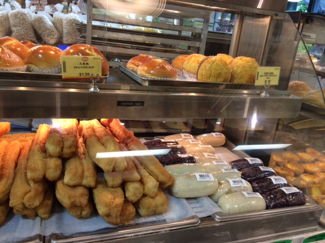 New Race Food: Chinese Bakery Items | not running for gold