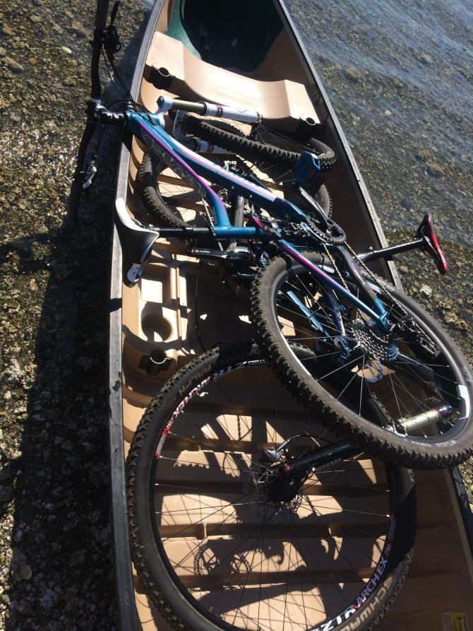 Canoe and Biking