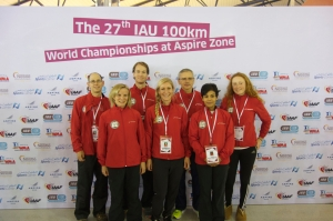 Team Canada for 2014 IAU World 100K