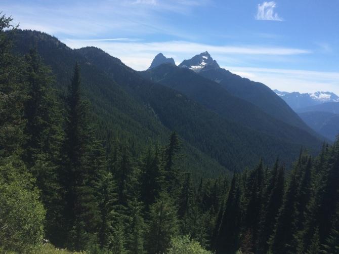 Hello, Hozomeen Mountain!