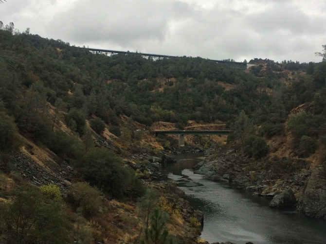 The American River!