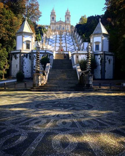 These beautiful steps, about 100 meters high, are an important part of the Bom Jesus sanctuary where local pilgrims visit. Or, other people like to race them on Strava. Photo credit: Nadine Marie Janetta