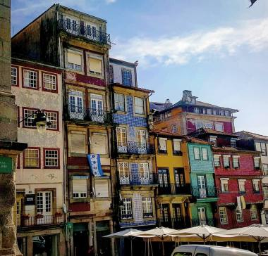 JK Rowling was inspired with the idea to write Harry Potter while she lived in Porto. I can see why, the mosaic of colourful, unique houses and diagonal alleys are charming. Photo credit: Nadine Marie Janetta.