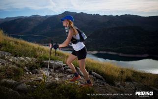 The high point of the course was pure beauty. I still have dreams about it! Photo credit: Prozis Trail Running
