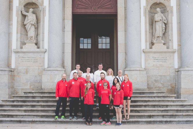 Team Canada! Photo credit goes to our team pro photographer Daniella Barreto