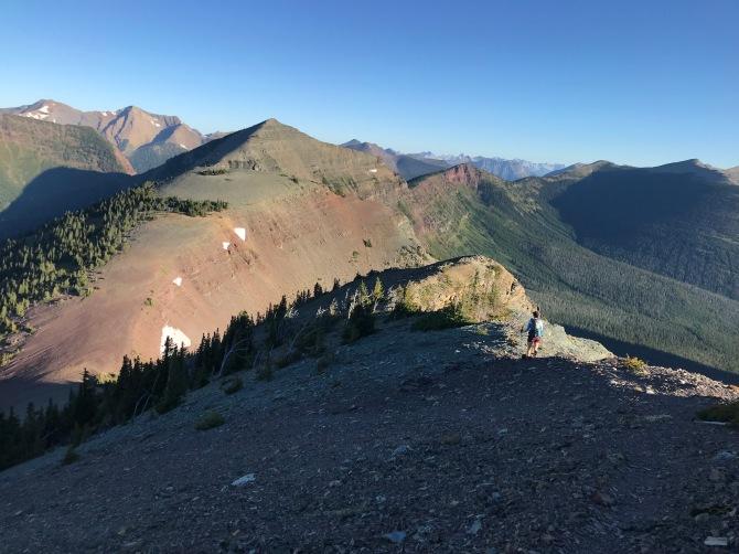 La Coulette Ridge on GDT